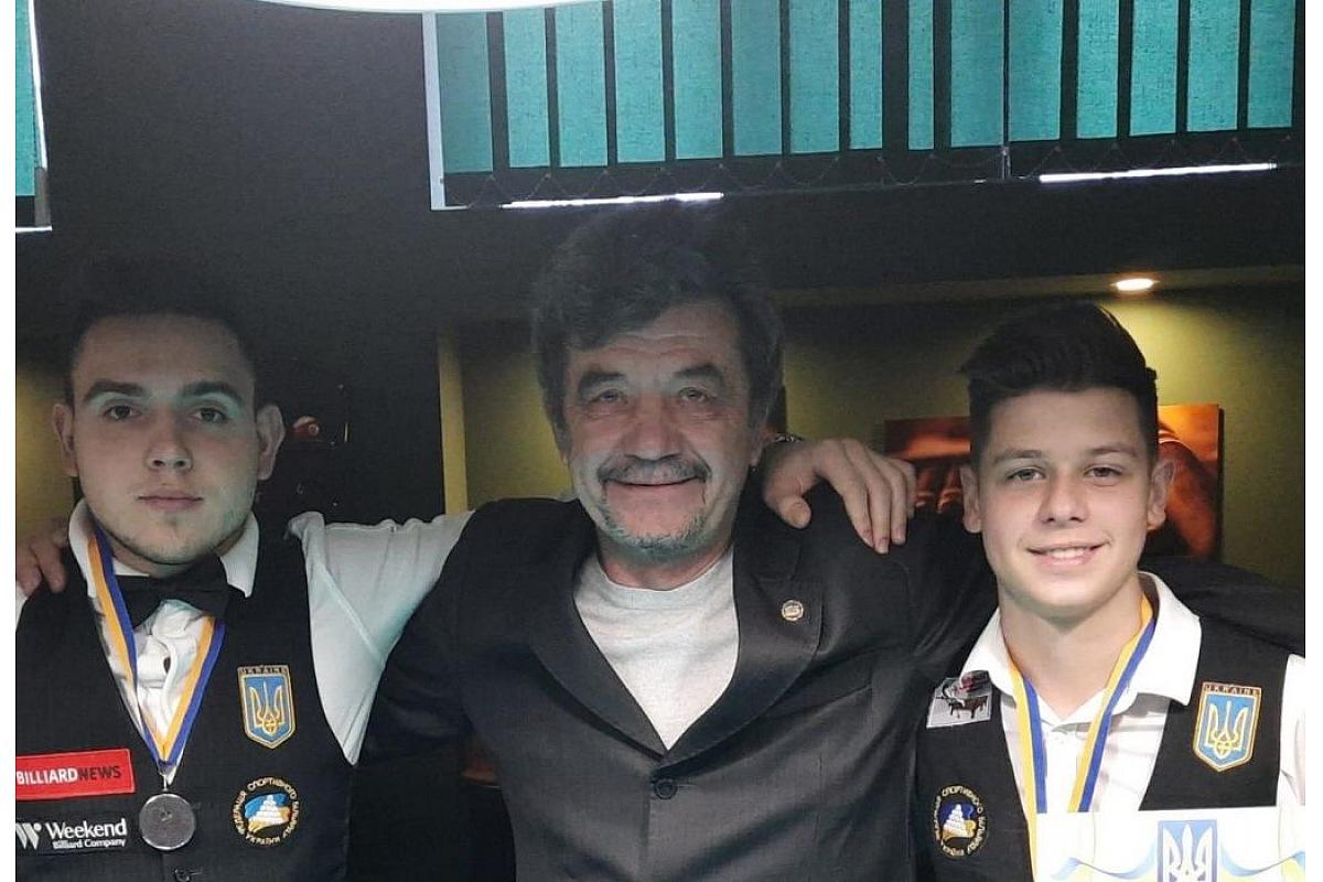 Кропивницькі більярдисти гідно представили місто на чемпіонаті України